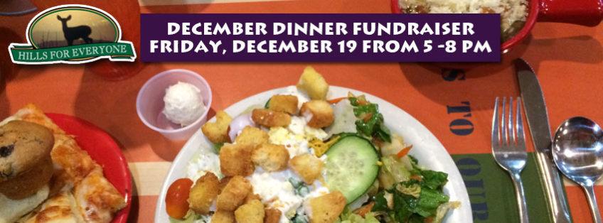 December 19 Fundraiser, Souplantation Brea 5-8 PM