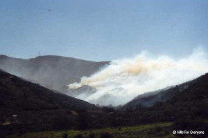 Coal Canyon Wildfire (2002)