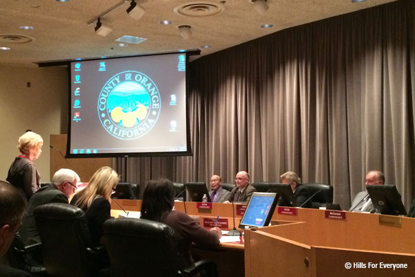 Esperanza Hills Moves to OC Supervisors