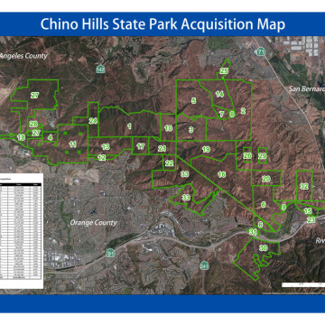 State Park Acquisition Map