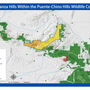 Esperanza Hills Map