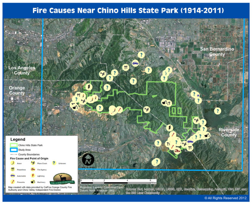 Fire Causes Map
