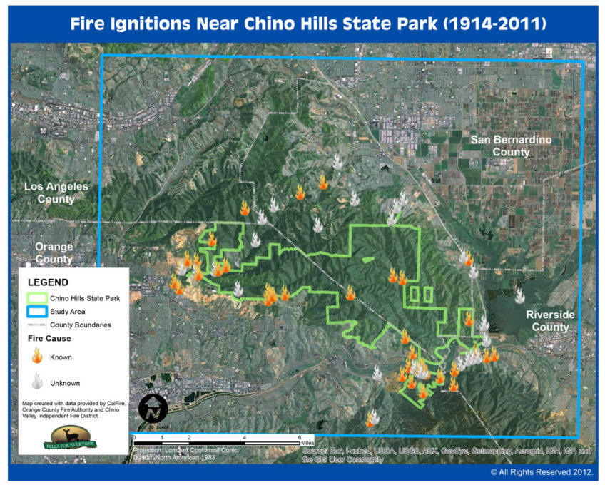 Fire Ignitions Map