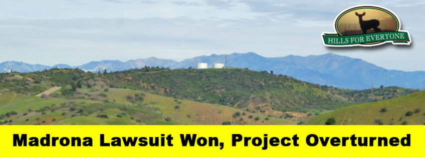 Madrona Project Overturned in Court