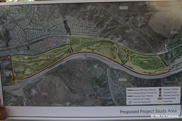 Santa Ana River Parkway Extension Project