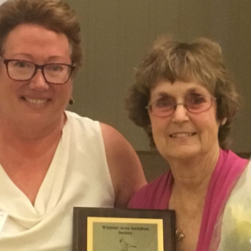Claire Schlotterbeck Receives Award