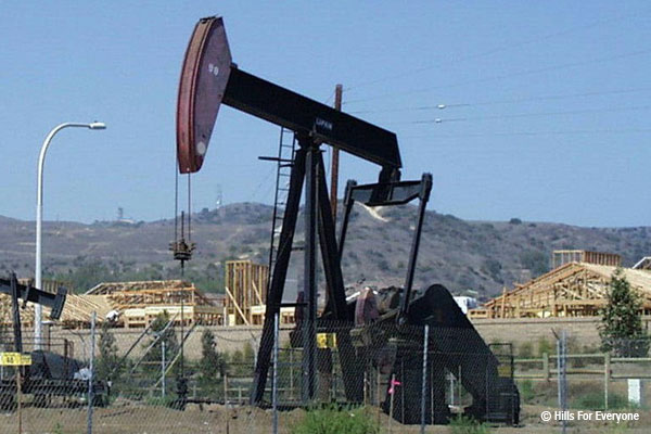 Oil Wells and Homes — There's History There