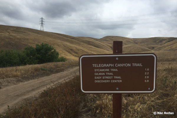 New Signs at Chino Hills State Park