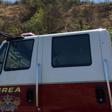 Brea Brush Fire on 4th of July