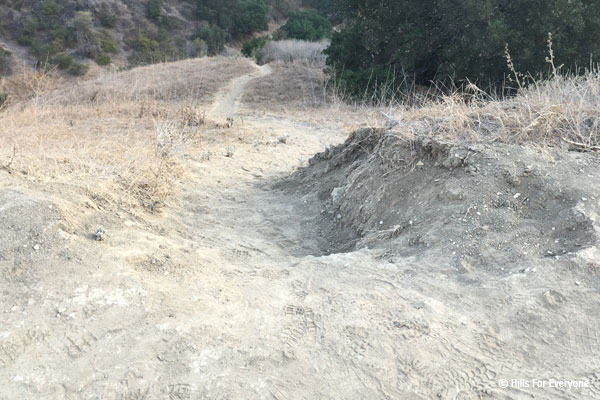 Illegal Trail Use, Unacceptable