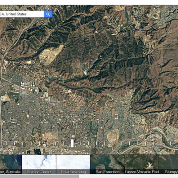 Google Timelapse Tool, See the Landscape Change