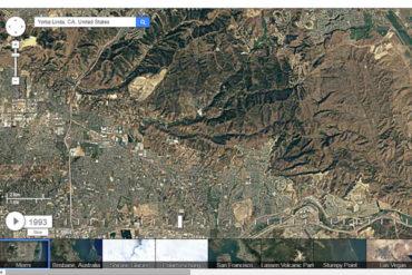 Google Timelapse Tool, See the Landscape Change