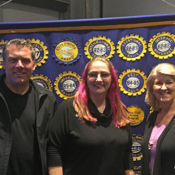Rotary Presentation Highlights Wildfires