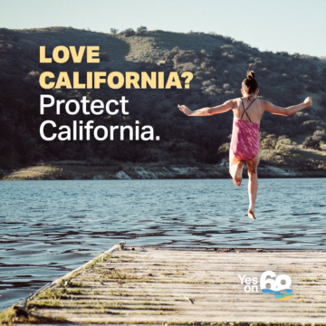 Yes on Prop 68, For Future Generations