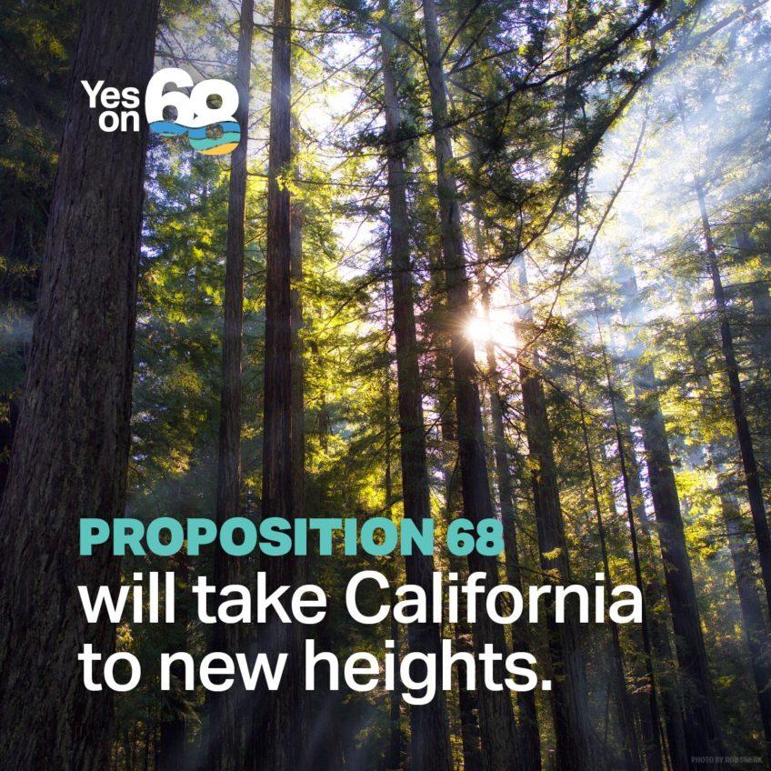 SF Chronicle Endorses Prop 68