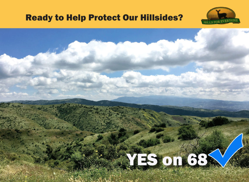 Prop 68 Approved by Voters