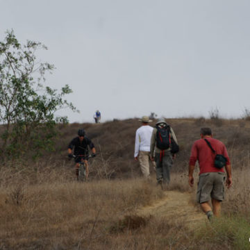 Mountain Bikers Impacting the State Park