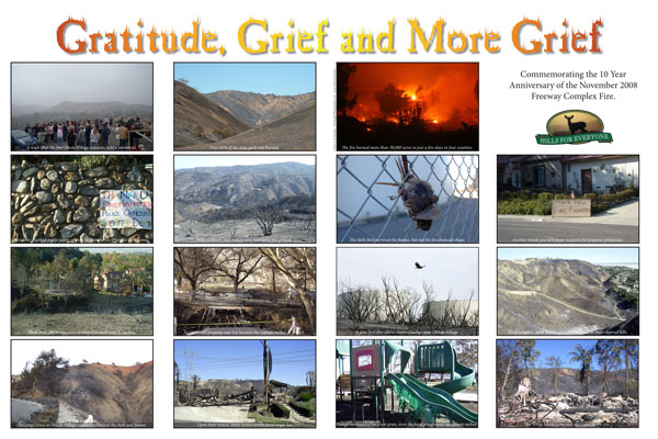 Grief, Gratitude and More Grief
