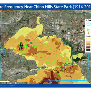 Fire Frequency Map