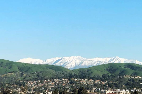 Backdrop of Brea