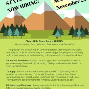 State Park Job Opening