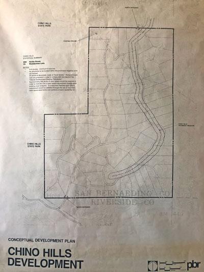 A Conceptual Development Plan shows 75 units proposed across the 400 acre Eastbridge property.