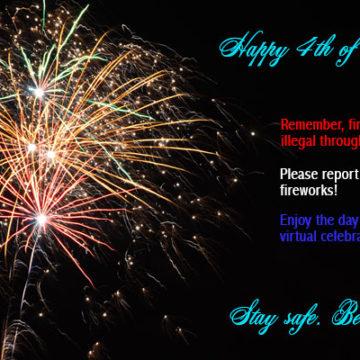 Celebrate the 4th Virtually