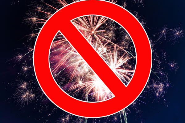 Report the Use of Fireworks