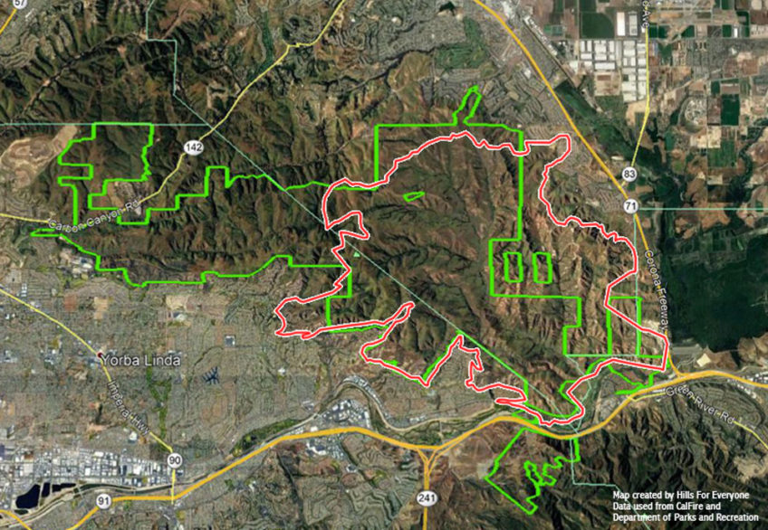 Blue Ridge Fire Burns 56% of State Park