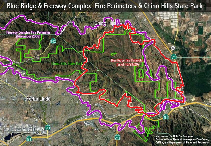 Blue Ridge Fire Update