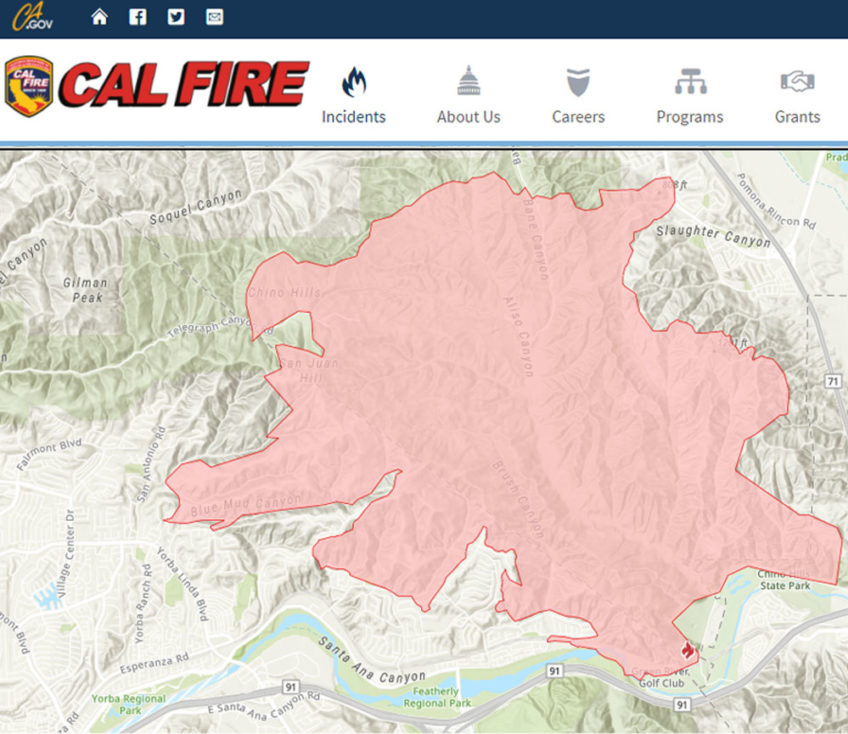 Fire at 14,334 Acres