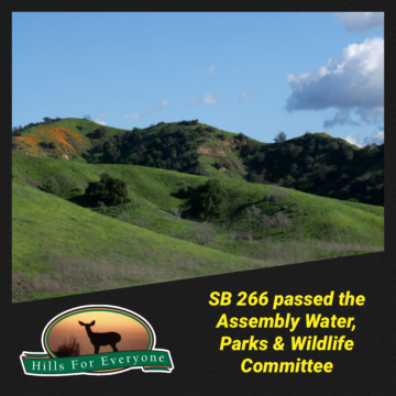SB 266 Passes Out of Assembly Committee