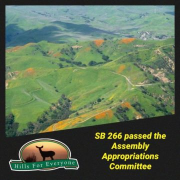 SB 266 Passes Appropriations