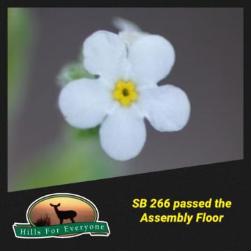Bill Passes Assembly Floor